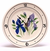 Kitchen Wall  Clock - Iris Pattern