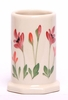 Red Poppy Toothbrush Holder
