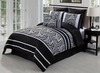 Safari Zebra Luxury Bed Ensemble