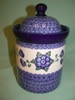 Extra Large Kitchen Canister - Pattern A12