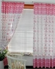 Girl's Flower Print Curtain Drapes
