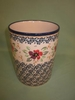 Polish Pottery Utensil Holder - Pattern 13