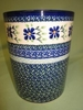 Polish Pottery Utensil Holder -  Pattern 41