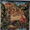 Medieval Feast Tapestry Cushion