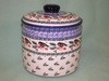 Polish  Cookie Jar - Pattern A25