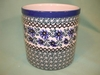 Polish Pottery Utensil Holder - Pattern A18