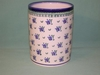 Polish Pottery Utensil Holder - Pattern 45