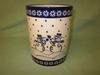 Polish Pottery Utensil Holder - Pattern 29