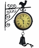 Country Bell Double Faced Clock