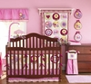 Baby's 9-pc'Luv Bug' Nursery Crib Set