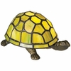 Tortoise Tiffany Style Accent Lamp