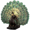 Peacock Accent Table Lamp
