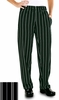 Women's Chef Pants - Executive Stripe Black