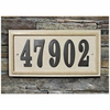 Sandstone Rectangle Address Plaque