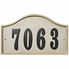 Sandstone  Serpentine Address Plaque