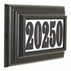 Classic Lighted Address Plaque