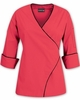 Women's Wrap 3/4 Sleeved Chef Coat