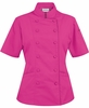 Women's Tailored Hot Pink Chef Coat