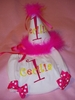 Personalized Party Hat and Bloomers Set