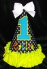Polkadots and Bright Colors Party Hat