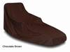 Oversized Patio Chaise Cover - Brown