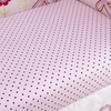 Baby's Pretty in Pink Fitted Crib Sheet
