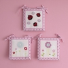 Baby's Pretty in Pink  Nursery  Wall Hangings