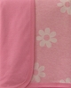 Baby's Pretty in Pink Organic Crib Blanket