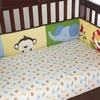 Baby's Jungle Jubilee Fitted Crib Sheet