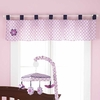 Flutter Nursery Window Valance