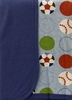 "Baby's ""Playball"" Crib Blanket"