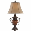 Large Bronze Urn Table Lamp