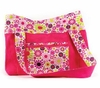Girl Power Hot Pink Diaper Bag Carryall