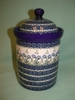 Large Polish Canister - Pattern A15