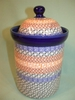 Large Polish Canister - Pattern A34