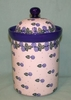 Large Polish Canister - Pattern A64