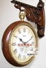 Antique Reproduction Two sided Clock