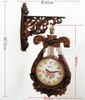 French Luxury Double Faced Clock