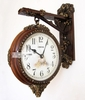 French RetroTwo-sided Clock