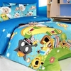 Boy's Animal Cartoon 3-pc Bedding Set