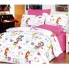 Girl's Pink Cartoons Bed in A Bag