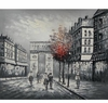 Paris Street Canvas Art