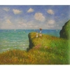 The Cliff Walk at Pourville Canvas Art
