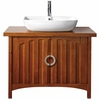 "Kent Chestnut 33"" High Bath Vanity"