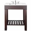 "Loft Dark Walnut 35""H  Bath Sink Vanity"