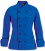 Women's Cool Colors/Black Chef Coat