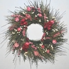 Scotch Broom and Strawflowers Wreath