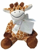 Baby's Plush Giraffe Rattle