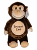 Personalized Plush Huggles Monkey