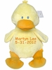 Personalized Plush Bumbeeno Duck